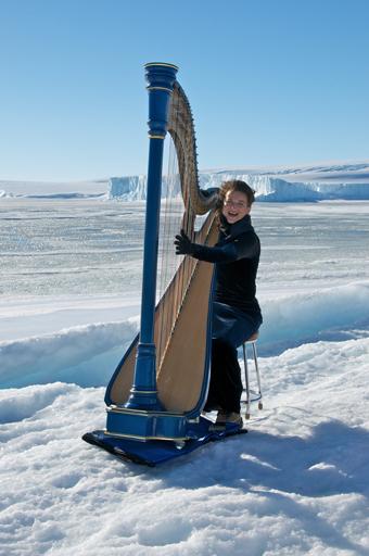 Alice Giles in Antarctica