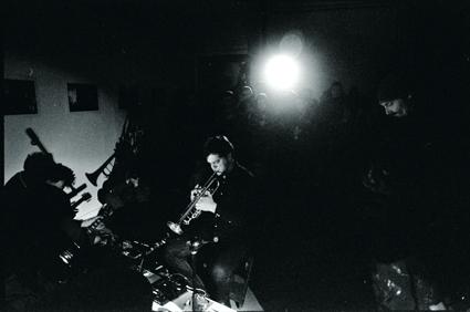 Matthew Syres, Joe Cummins, Dirk Kruithof, Forenzics, Sound Series #15, photo Lucien Alperstein