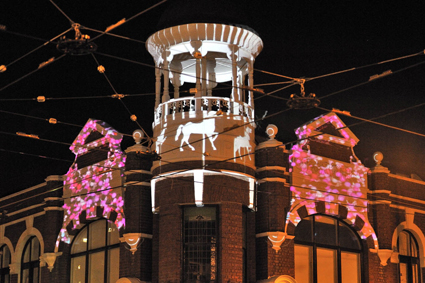 Projection Playground, Olaf Meyer, Gertrude Street Projection Festival 2011