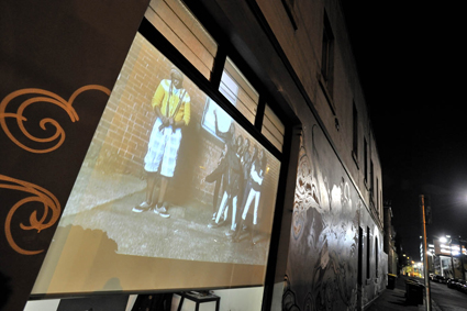 Fitzroy Learning Network, Gertrude Street Projection Festival 2011