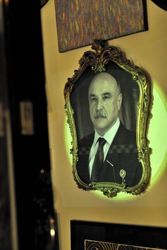 Portrait of a Man 1, Yandell Walton, Clare Hassett, Gertrude Street Projection Festival 2011