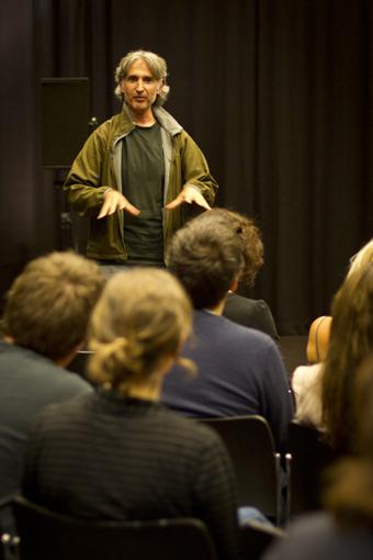 Philip Samartzis discussing Desert, THNMF 2011