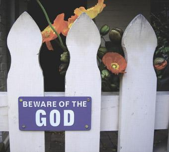 Deborah Kelly, Beware of the God, 2005 (installation view)