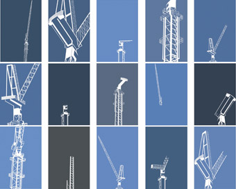 Julia Dowe, white cranes day and night