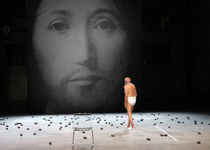 Gianni Plazzi, Sul concetto di volto nel figlio di Dio (On the Concept of the Face of God), Socìetas Raffaello Sanzio
