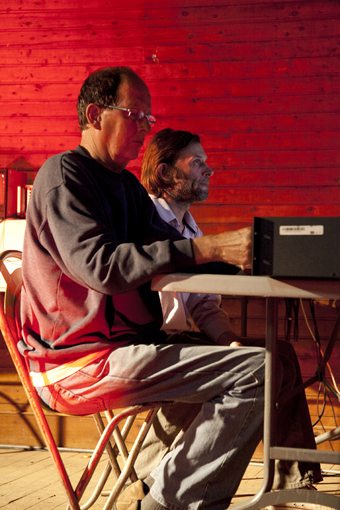 Alan Lamb, David Burraston, WIRED Open Day 2011