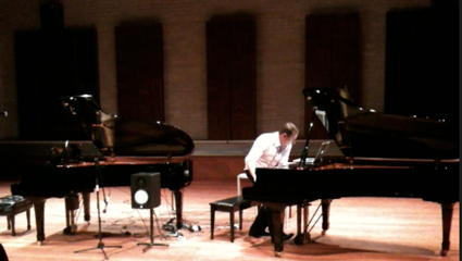 Mark Gasser performing Cat Hope's Chunk, The Mechanical Piano