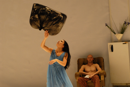 Marnie Palomares, Rowan Machingo, Back from Front (2008), Dean Walsh, Performance Space