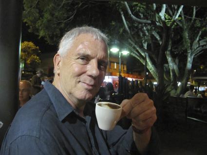 Douglas Leonard at Cha Cha