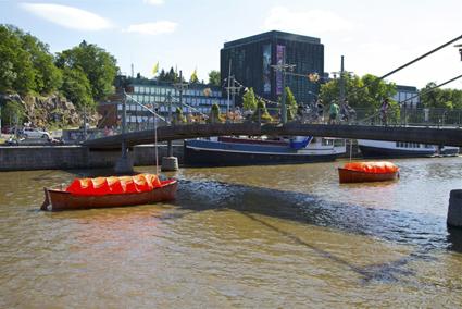 Nigel Helyer, Vox Aura, public sound work on the River Aura