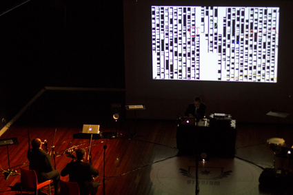 Decibel, performing The Talking Board at Totally Huge New Music Festival 2011