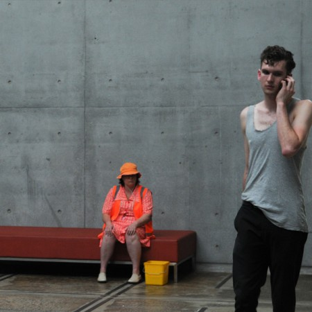 Julie-Anne Long, The Invisibility Project [performance documentation] 2010. Performance Space LiveWorks Festival, Sydney