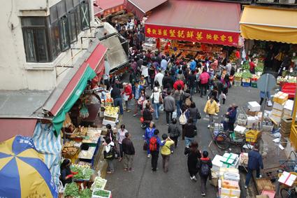 Bowrington Rd Market, Hong Kong