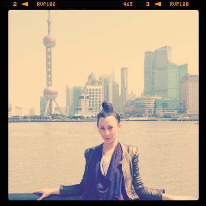 Thea Baumann in Shanghai
