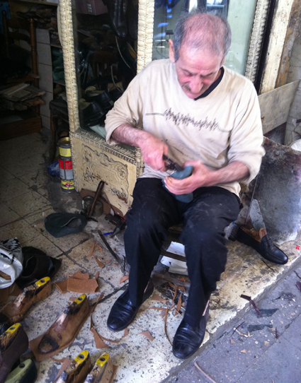 Shoemaker in Beirut