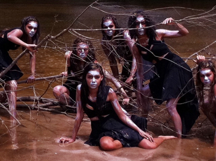 Jannawi Dance Theatre, Megamaras, film, Blacktown Arts Centre