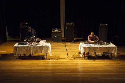 Merzbow, Oren Ambarchi, Noise Duo, Cambelltown Arts Centre