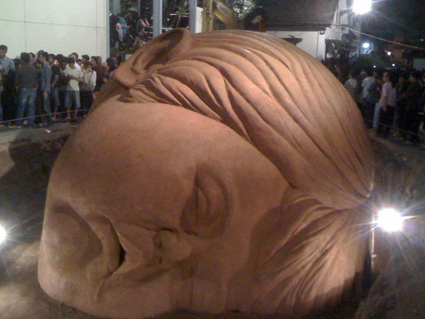 Eddie Prabandono, A Sleeping Child, opening night, ArtJOG11, 2011