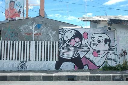 Here Here, street art, 2012