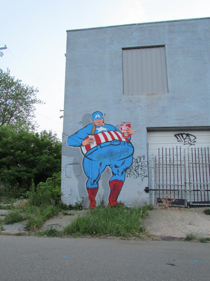 street art, Hamtramck area