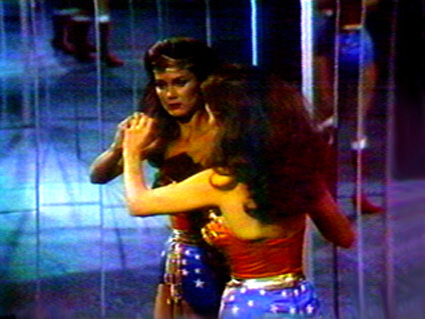 Dara Birnbaum, Technology/Transformation: Wonder Woman, 1978 – 1979 (video still)