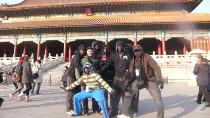 The Chooky Dancers at the Forbidden City, Beijing (2010)