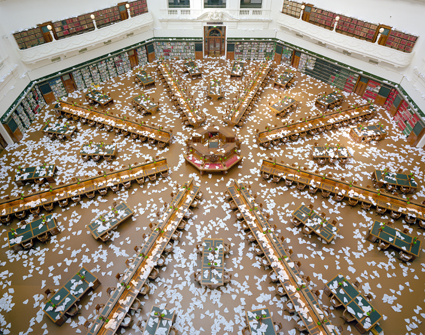 Ross Coulter, 10,000 Paper Planes - Aftermath (3) 2011