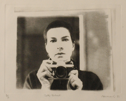 Anne Newmarch, Self portrait, 1981, photo-etching