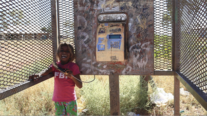 Maisie Parrngurr, Phone Booth, We don't  need a map