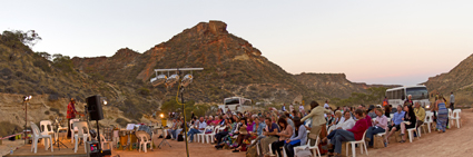 Tura, Shothole stage, Sounds Outback (... to Reef), Exmouth, WA