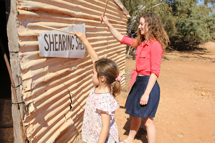 Tura, shearing shed percussion, Sounds Outback (... to Reef), Exmouth, WA