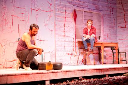 Aaron Pedersen, Heather Mitchell, Signs of Life, Sydney Theatre Company, Black Swan Theatre Company