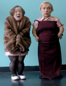 Emma J Cooper and Kirüna Stamell, Atypical Theatre Company, The Maids