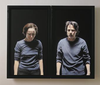 Bill Viola, Silent Mountain 2001 Kira Perov
