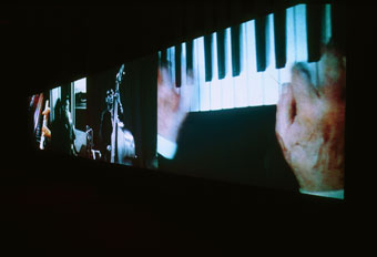 Christian Marclay, Video Quartet (video installation)