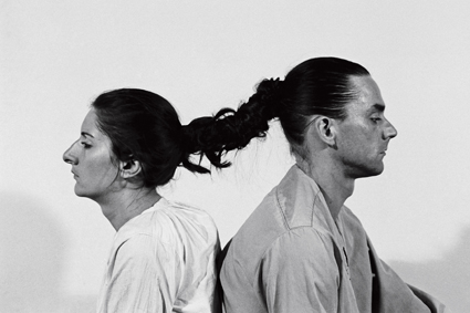 Relation in Time, Ulay/Abramovic, 1977; Marina Abramovic: The Artist is Present, images courtesy of Madman, © 2012 Show of Force LLC and Mudpuppy Films Inc. All Rights Reserved