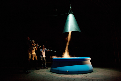 Cameron Robbins, Cloudscape, opening night performance by Graeme Leak, Tim Humphrey, Cameron Robbins Gauge