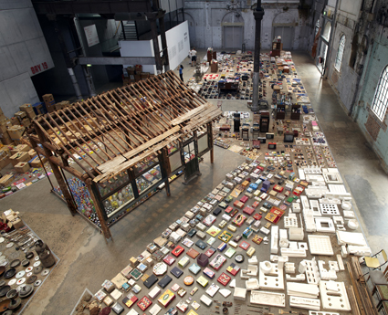 Song Dong, Waste Not, installation Carriageworks