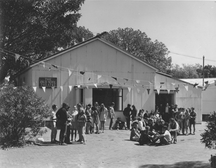 The original Old Tote Theatre, 1968, now the Figtree Theatre at UNSW