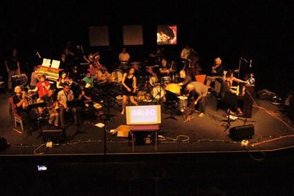 Composition for 27 artists, Jon Rose, SoundOut 2013