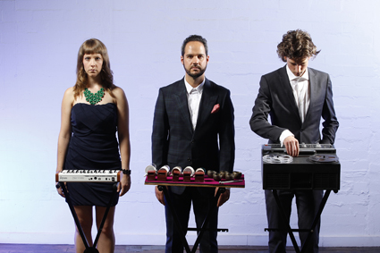 Leah Scholes, Eugene Ughetti, Matthias Schack-Arnott, Speak Percussion
