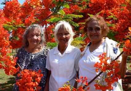 Jessie Lyons Alice Briston, Netta Cahill Croker Island Exodus