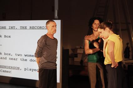 Trevor Patrick, Fiona Cameron, Phoebe Robinson, The Recording, Sandra Parker