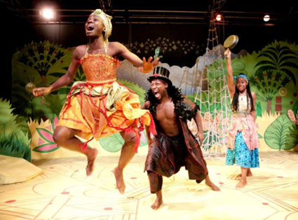 Anansi: An African Fairy Tale by Lisa Cagnacci – Southwark Playhouse