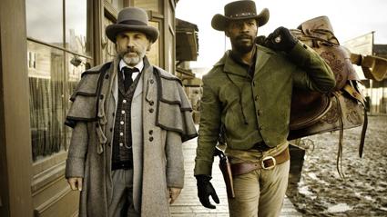 Christoph Waltz, Jamie Foxx, Django Unchained, Quentin Tarantino