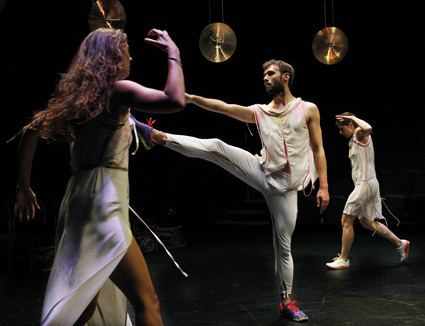 Brooke Stamp, Rennie McDougall, Deanne Butterworth, And All Things Return to Nature Tomorrow, Phillip Adams' BalletLab