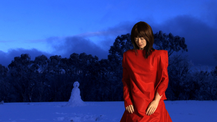 Mari Velonaki, The Woman and the Snowman, 2009-present, production image