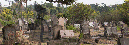 Afterimage, Lyndal Hargrave and Sue Henderson, HIDDEN: Rookwood Cemetery Sculpture Walk