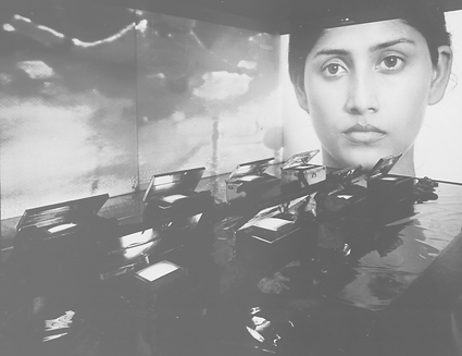 Nalini Malani, India, born 1946, Remembering Toba Tek Singh, 1998 (detail), video installation