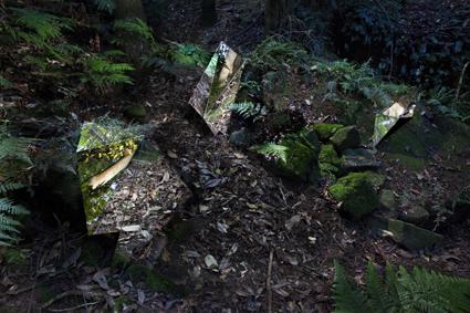 Daneil Kotja, Reflect Phi (a monument), Sculpture at Scenic World